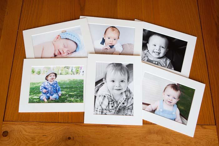fine art print packs babys first year