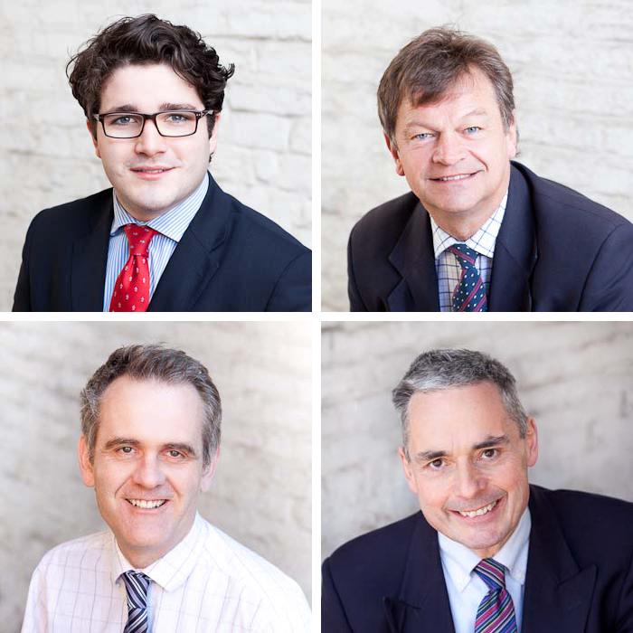 Business portrait headshots