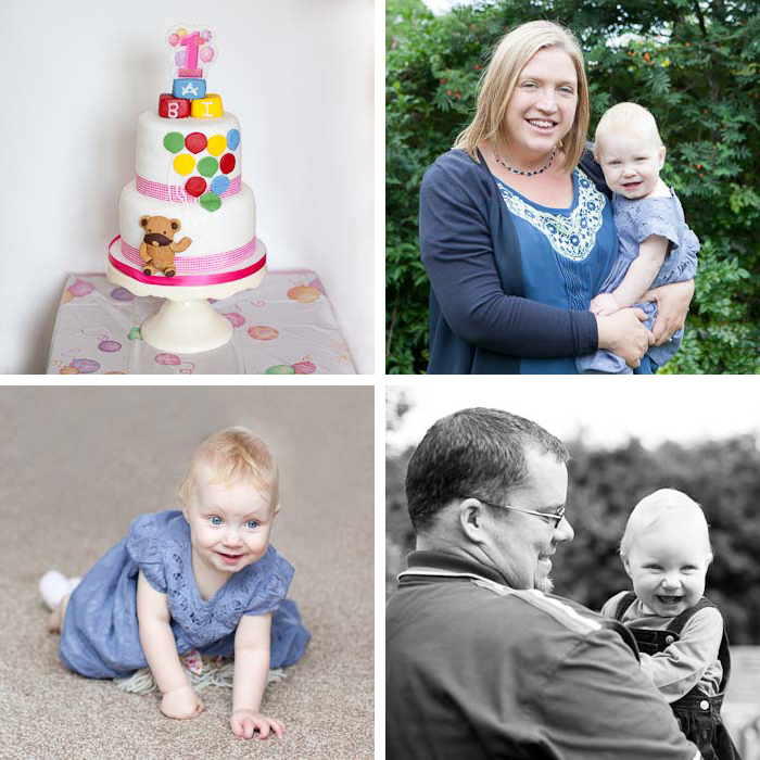 first birthday party family portraits crewe