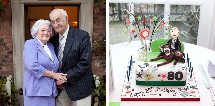 80th birthday party family portraits cheshire