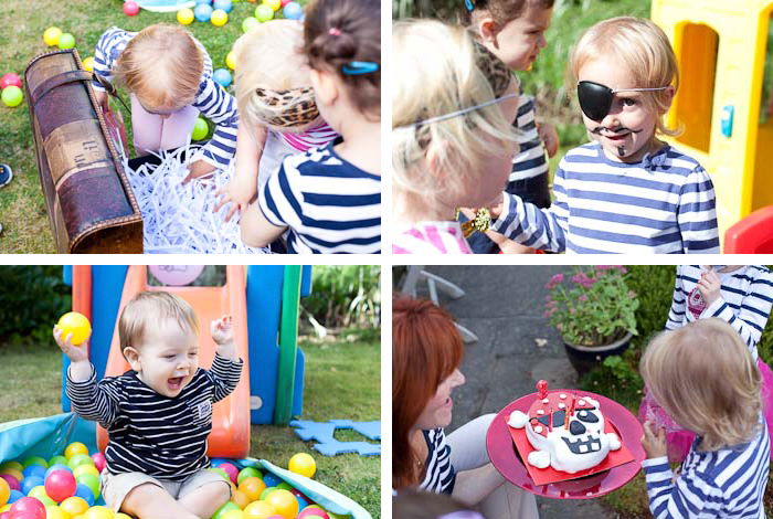 third birthday childrens pirate party