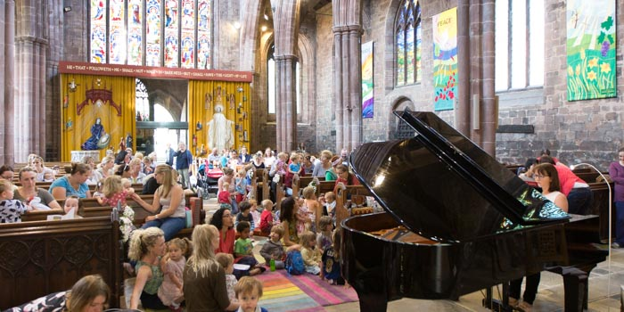 classical kids music concerts nantwich