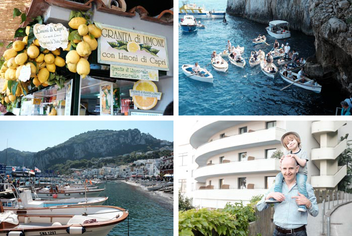 sorrento family holiday photographs