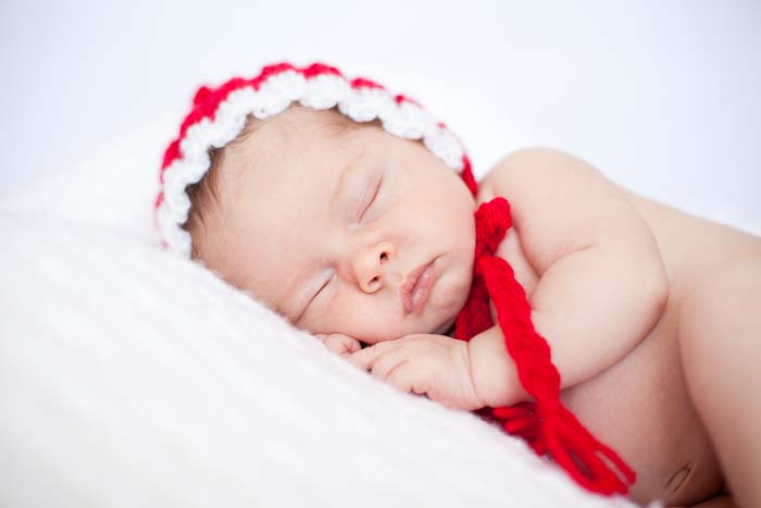 christmas baby portraits